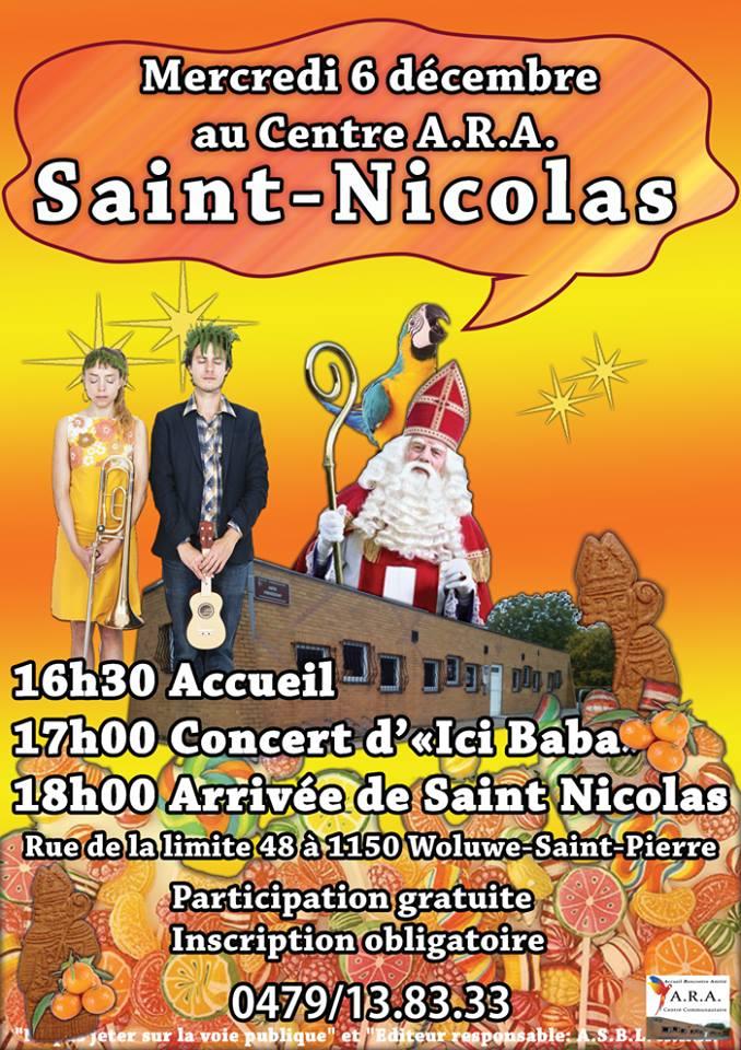 affiche Saint-Nicolas 2017